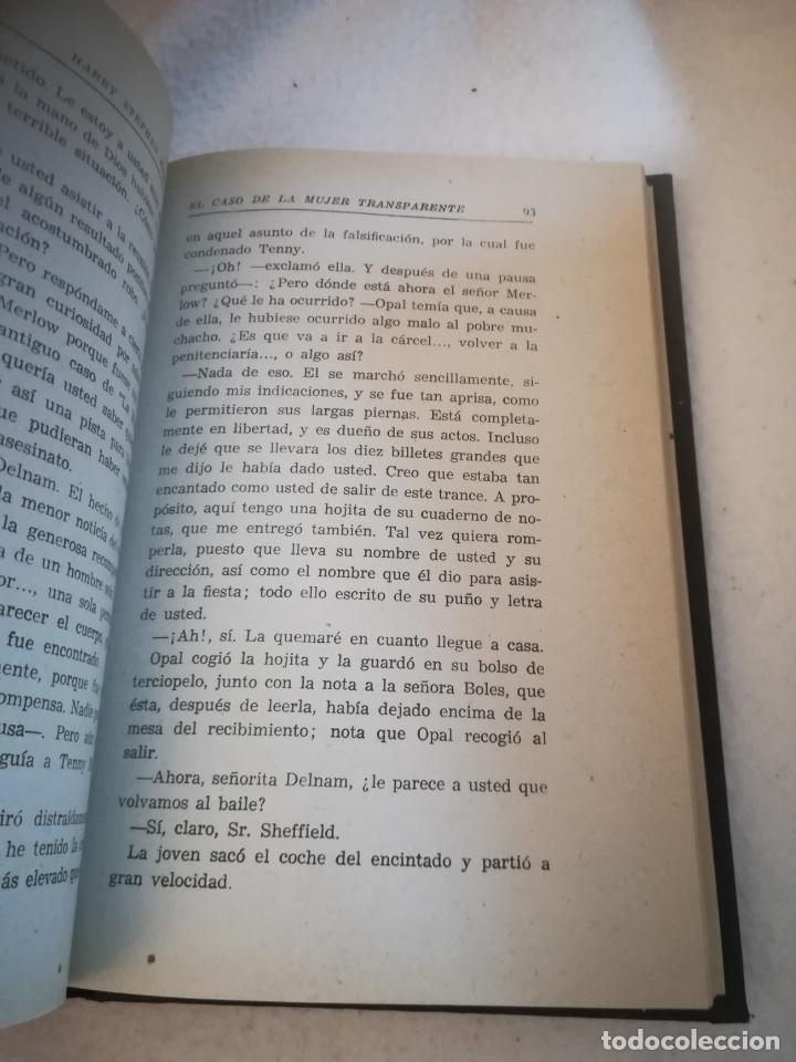Libros de segunda mano: EL CASO DE LA MUJER TRANSPARENTE. HARRY S.KEELER Y HAZEL G.KEELER. 1963. ED REUS. 294 PAG. VER - Foto 4 - 219571833