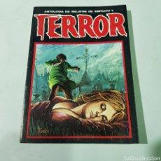 Libros de segunda mano: ANTOLOGÍA DE RELATOS DE ESPANTO Y TERROR NÚMERO 8 - TDK488. Lote 220103836