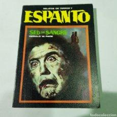 Libros de segunda mano: RELATOS DE TERROR Y ESPANTO NÚMERO 4 - SED DE SANGRE - TDK488. Lote 220104125