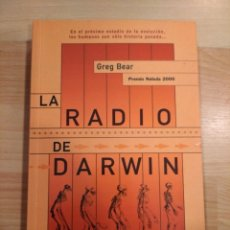 Livres d'occasion: 'LA RADIO DE DARWIN'. GREG BEAR. Lote 220143225