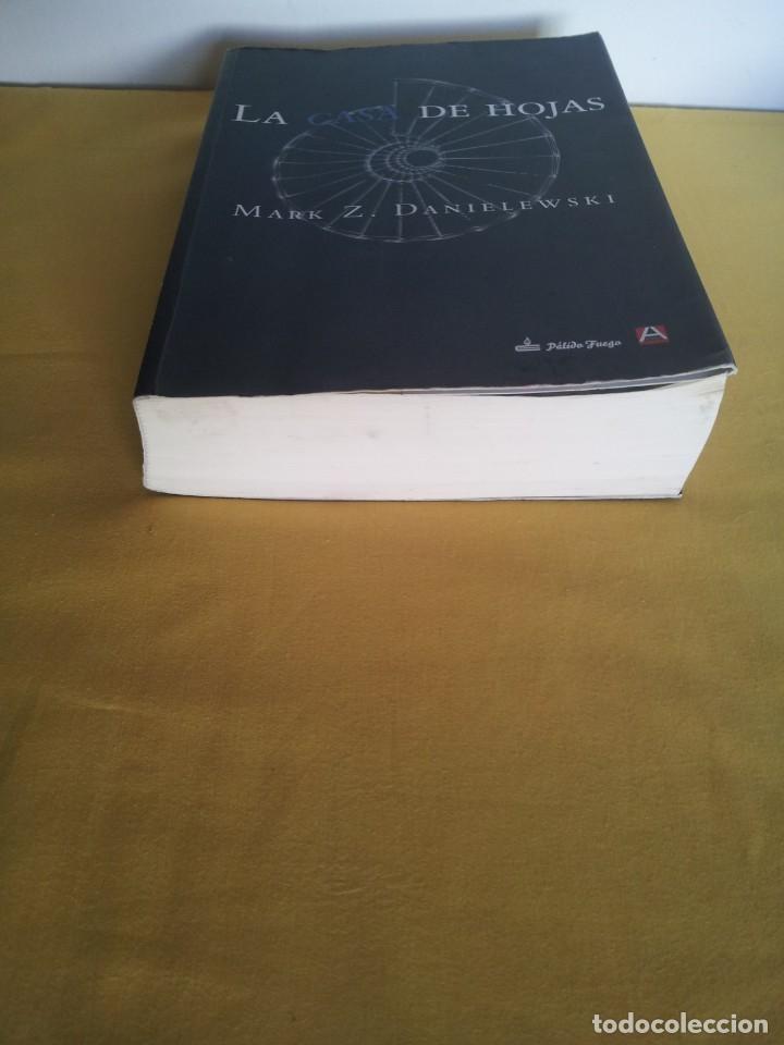 Libros de segunda mano: MARK Z. DANIELEWSKI - LA CASA DE HOJAS - EDITORIAL PÁLIDO FUEGO 2013 - Foto 7 - 220315968