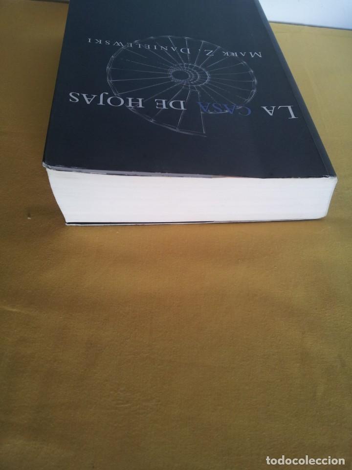 Libros de segunda mano: MARK Z. DANIELEWSKI - LA CASA DE HOJAS - EDITORIAL PÁLIDO FUEGO 2013 - Foto 9 - 220315968