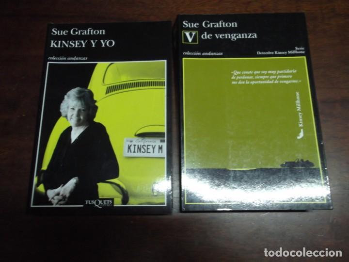 2 LIBROS DE SUE GRAFTON (KINSEY Y YO Y V DE VENGANZA) (Libros de segunda mano (posteriores a 1936) - Literatura - Narrativa - Terror, Misterio y Policíaco)