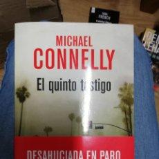 Libros de segunda mano: EL QUINTO TESTIGO. 2ª EDICIÓN, LIBRO NUEVO. Lote 221372478