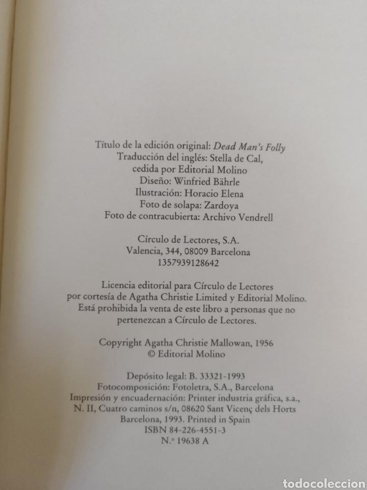 Libros de segunda mano: El templete de Nasse House. Agatha Christie. Editorial Molino para Círculo de lectores. Libro - Foto 4 - 221437992