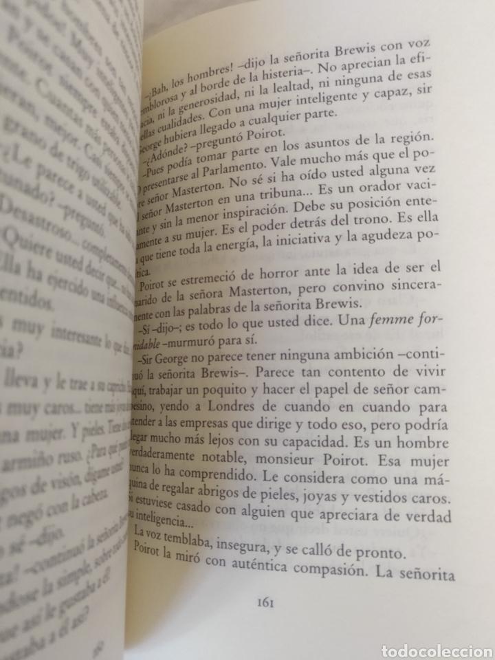 Libros de segunda mano: El templete de Nasse House. Agatha Christie. Editorial Molino para Círculo de lectores. Libro - Foto 5 - 221437992
