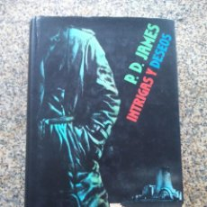 Libros de segunda mano: INTRIGAS Y DESEOS -- P. D. JAMES -- CIRCULO 1990 --. Lote 221713358