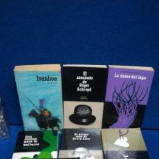 Libros de segunda mano: LOTE DE 8 LIBROS, EL PAÍS SERIE NEGRA.. Lote 222040602