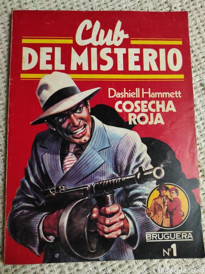 CLUB DEL MISTERIO Nº 1 COSECHA ROJA / DASHIELL HAMMETT BRUGUERA AÑOS 80 (Libros de segunda mano (posteriores a 1936) - Literatura - Narrativa - Terror, Misterio y Policíaco)