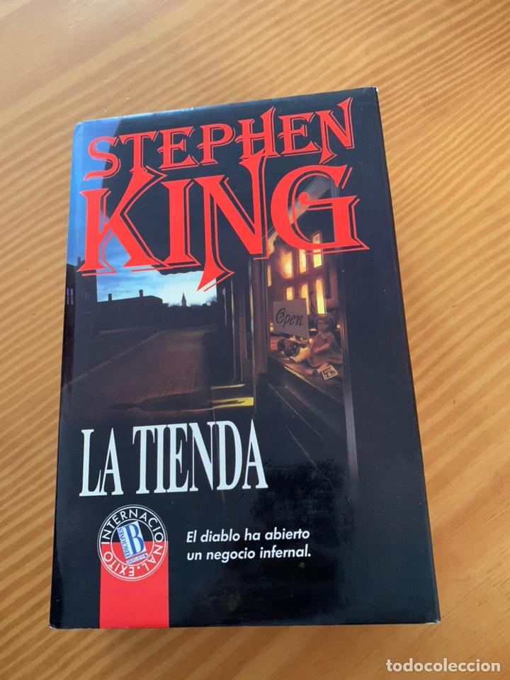 LIBRO STEPHEN KING - LA TIENDA - EDICIONES B 1ª ED. 1992 - TAPA DURA Y SOBRECUBIERTA (Libros de segunda mano (posteriores a 1936) - Literatura - Narrativa - Terror, Misterio y Policíaco)