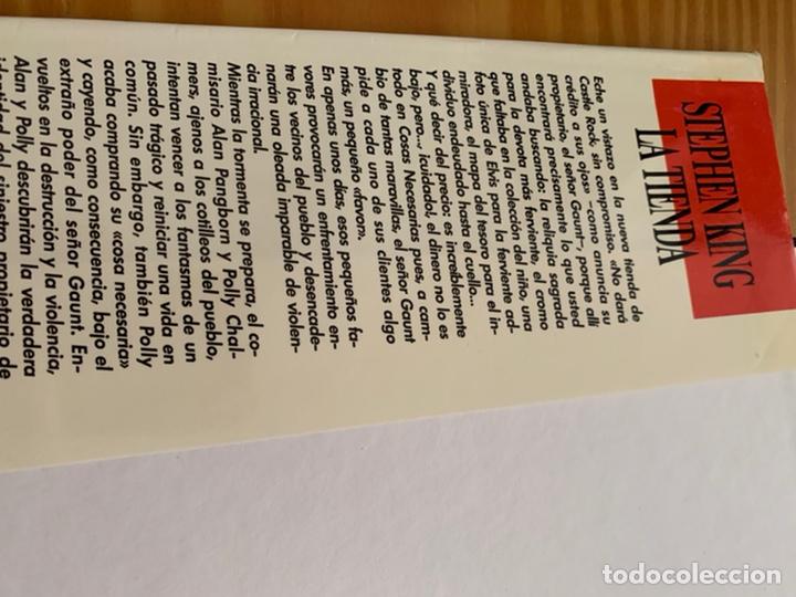 Libros de segunda mano: LIBRO STEPHEN KING - LA TIENDA - EDICIONES B 1ª ED. 1992 - TAPA DURA Y SOBRECUBIERTA - Foto 5 - 222136735