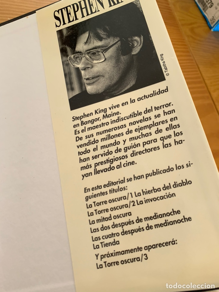Libros de segunda mano: LIBRO STEPHEN KING - LA TIENDA - EDICIONES B 1ª ED. 1992 - TAPA DURA Y SOBRECUBIERTA - Foto 9 - 222136735