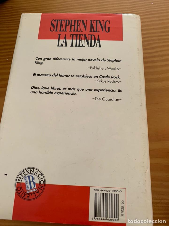 Libros de segunda mano: LIBRO STEPHEN KING - LA TIENDA - EDICIONES B 1ª ED. 1992 - TAPA DURA Y SOBRECUBIERTA - Foto 10 - 222136735