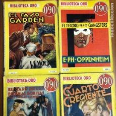 Livros em segunda mão: MAGNIFICO LOTE BIBLIOTECA ORO MOLINO 4 EJEMPLARES PRIMERAS EDICIONES. Lote 222198857