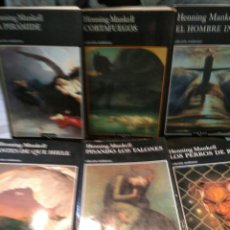 Libros de segunda mano: LOTE HENNING MANKELL 8 LIBROS TUSQUETS. Lote 222370275