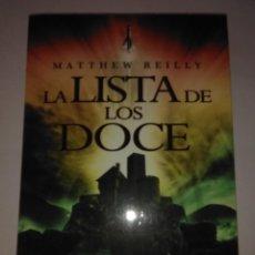 Libros de segunda mano: LA LISTA DE LOS DOCE .MATTHEW REILLY ( LA FACTORIA ). Lote 222390476