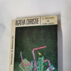 Libros de segunda mano: EL MISTERIO DE SANS-SOUCI AGATHA CHRISTIE. Lote 222396853