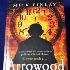 Libros de segunda mano: ARROWOOD (HARPERCOLLINS) - FINLAY, MICK. Lote 222498561
