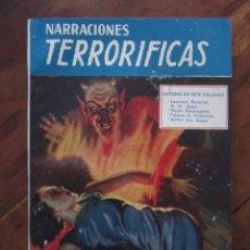 Libros de segunda mano: NARRACIONES TERRORIFICAS Nº 66. LA LOCURA DEL PANTANO. EDITORIAL MOLINO ARGENTINA 1947 EXCELENTE. Lote 222500922