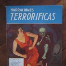 Libros de segunda mano: NARRACIONES TERRORIFICAS Nº 64. LA SED DEL MUERTO VIVIENTE EDITORIAL MOLINO ARGENTINA 1946 EXCELENTE. Lote 222500992