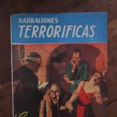 Libros de segunda mano: NARRACIONES TERRORIFICAS Nº 63. COSAS QUE UNA VEZ FUERON HOMBRES. MOLINO ARGENTINA 1946 EXCELENTE. Lote 222501085