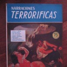 Libros de segunda mano: NARRACIONES TERRORIFICAS Nº 57. EL ESCULTOR DEL DIABLO. EDITORIAL MOLINO ARGENTINA 1946 EXCELENTE. Lote 222501312