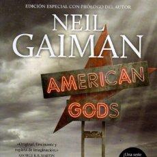 Libros de segunda mano: AMERICAN GODS DE NEIL GAIMAN - ROCABOLSILLO, 2016. Lote 222502530