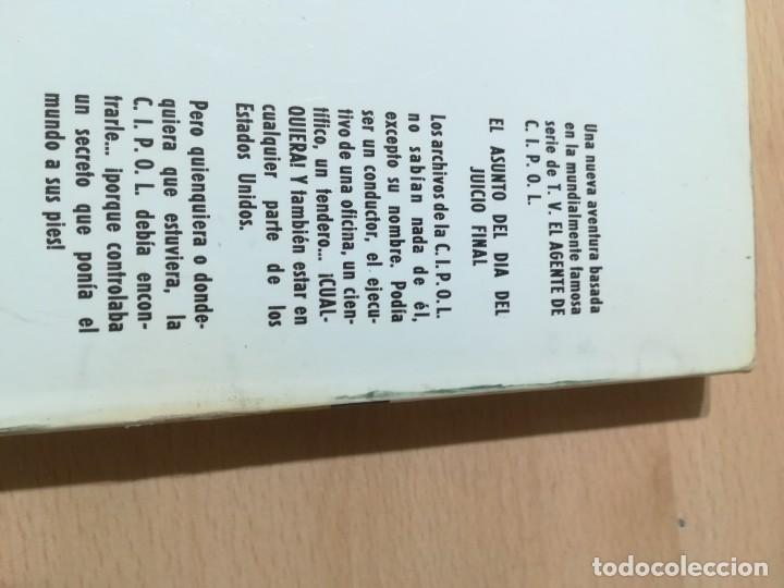 Libros de segunda mano: EL AGENTE DE C.I.P.O.L EL ASUNTO DEL DIA DEL JUICIO FINAL / HARRY WHITTNGTON / / W+406 - Foto 3 - 222605045