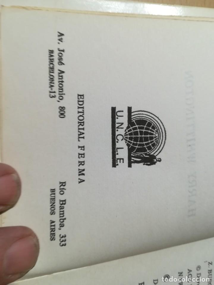 Libros de segunda mano: EL AGENTE DE C.I.P.O.L EL ASUNTO DEL DIA DEL JUICIO FINAL / HARRY WHITTNGTON / / W+406 - Foto 6 - 222605045