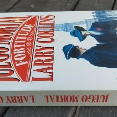 Libros de segunda mano: JUEGO MORTAL / LARRY COLLINS / PLAZA JANES / X404. Lote 222607227