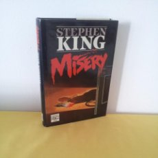 Libros de segunda mano: STEPHEN KING - MISERY - PLAZA & JANES 3ª EDICION ENERO 1989. Lote 222619368