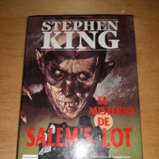 Libros de segunda mano: EL MISTERIO DE SALEM'S LOT. STEPHEN KING. PRIMERA EDICIÓN. Lote 223019405