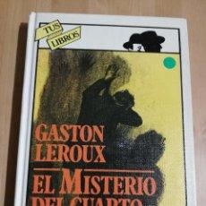 Libros de segunda mano: EL MISTERIO DEL CUARTO AMARILLO (GASTON LEROUX). Lote 223528422
