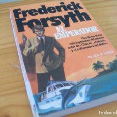 Libros de segunda mano: EL EMPERADOR (Y OTRO RELATOS), FREDERICK FORSYTH 1982. Lote 223596851