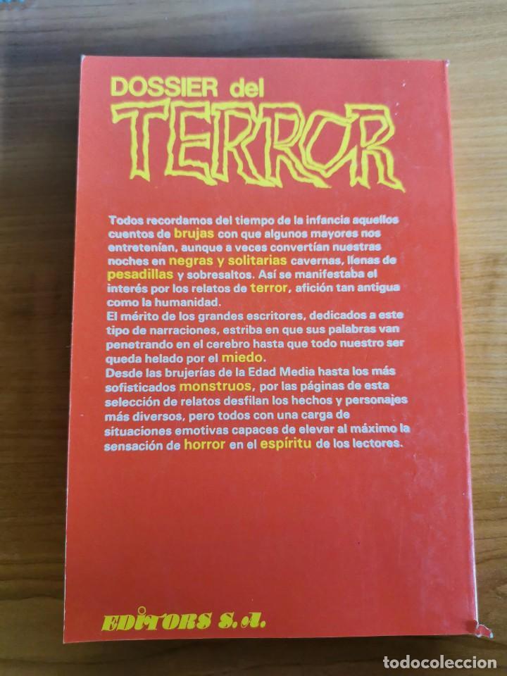 Libros de segunda mano: DOSSIER DEL TERROR Nº 10 - Foto 2 - 166155168