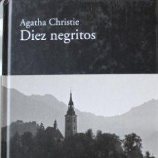Libros de segunda mano: AGATHA CHRISTIE, DIEZ NEGRITOS, PASTAS DURAS, LIBRO COMPLETAMENTE NUEVO, 179 PAGINAS. Lote 224153780