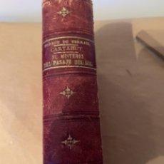 Libros de segunda mano: CARTAHUT, O EL BUQUE FANTASMA Y EL MISTERIO DEL PASAJE DEL SOL. Lote 224348568