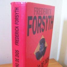 Libros de segunda mano: EL PUÑO DE DIOS, FREDERICK FORSYTH. PLAZA & JANÉS 1994. Lote 224567395