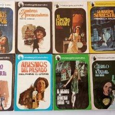 Libros de segunda mano: NOVELAS GÓTICAS MOLINO 1 AL 8 COMPLETA, MUY BUEN ESTADO - 1968 -. Lote 226399280