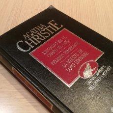Libros de segunda mano: AGATHA CHRISTIE - ASESINATO EN EL CAMPO DE GOLF - PELIGRO INMINENTE - LA MUERTE DE LORD EDGWARE. Lote 227090815