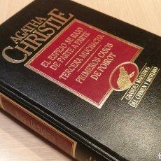 Libros de segunda mano: AGATHA CHRISTIE - EL ESPEJO SE RAJO DE PARTE A PARTE - TERCERA MUCHACHA - PRIMEROS CASOS DE POIRIT. Lote 227243105
