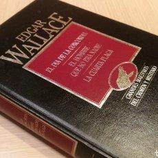 Libros de segunda mano: ÉDGAR WALLACE - EL DÍA DE LA CONCORDIA - EL HOMBRE QUE NO ERA NADIE - LA CUARTA PLAGA. Lote 227243900
