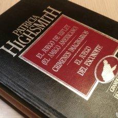 Libros de segunda mano: PATRICIA HIGHSMITH - EL JUEGO DE RIPLEY - CRÍMENES IMAGINARIOS - EL JUEGO DEL ESCONDITE. Lote 227251215