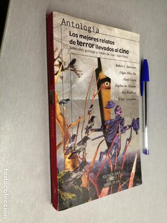 LOS MEJORES RELATOS DE TERROR LLEVADOS AL CINE / SELECCIÓN JUAN JOSÉ PLANS / ALFAGUARA 2002 (Libros de segunda mano (posteriores a 1936) - Literatura - Narrativa - Terror, Misterio y Policíaco)