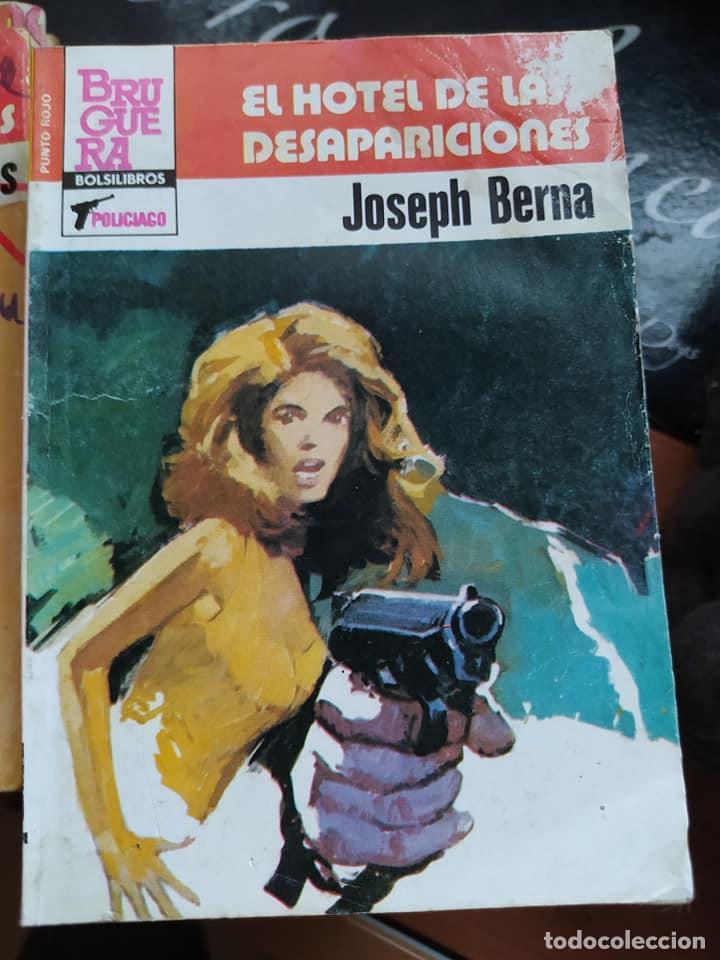 """NOVELAS POLICIACAS COLECCION PUNTO ROJO 1148 """"EL HOTEL DE LAS DESAPARICIONES"""" JOSEPH BERNA (Libros de segunda mano (posteriores a 1936) - Literatura - Narrativa - Terror, Misterio y Policíaco)"""
