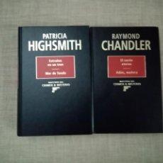 Libros de segunda mano: MAESTROS DEL CRIMEN Y MISTERIO PATRICIA HIGHSMITH-RAYMOND CHANDLER RBA 1994. Lote 228491895