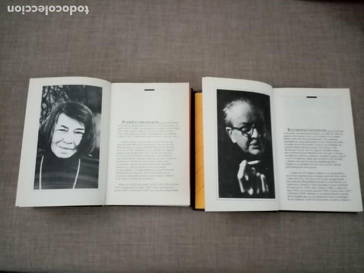 Libros de segunda mano: MAESTROS DEL CRIMEN Y MISTERIO PATRICIA HIGHSMITH-RAYMOND CHANDLER RBA 1994 - Foto 3 - 228491895