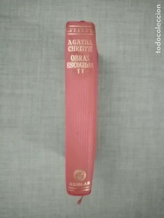 AGATHA CHRISTIE OBRAS ESCOGIDAS TOMO II EDITORIAL AGUILAR 1957 (Libros de segunda mano (posteriores a 1936) - Literatura - Narrativa - Terror, Misterio y Policíaco)