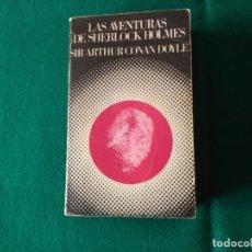 Libros de segunda mano: LAS AVENTURAS DE SHERLOCK HOLMES - SIR ARTHUR CONAN DOYLE - BARRAL EDITORES 1974. Lote 230961095