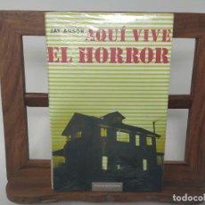 Livres d'occasion: AQUI VIVE EL HORROR. JAY ANSON. NUEVO, PRECINTADO. Lote 232783095